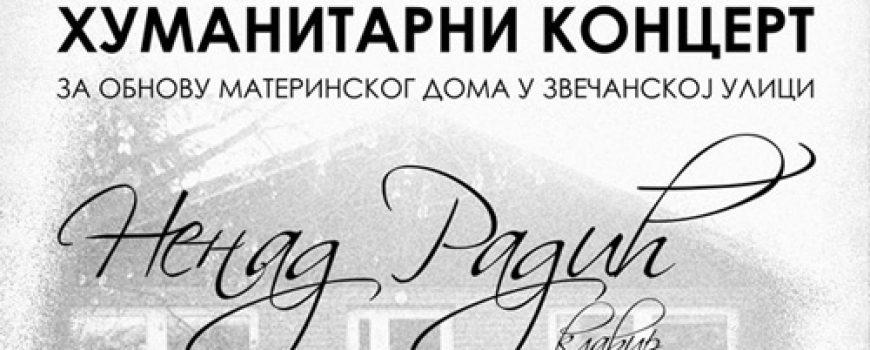 Humanitarni koncert pijaniste Nenada Radića