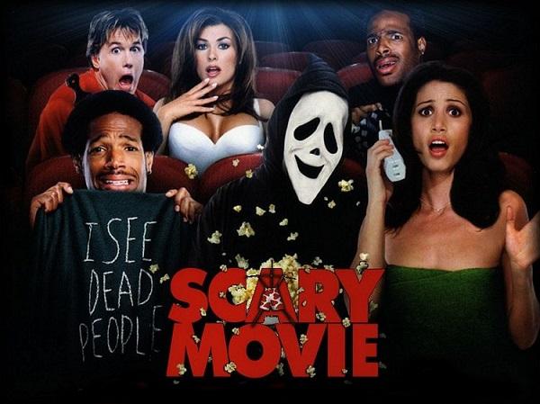 scary movie poster Besmislenost horor parodija