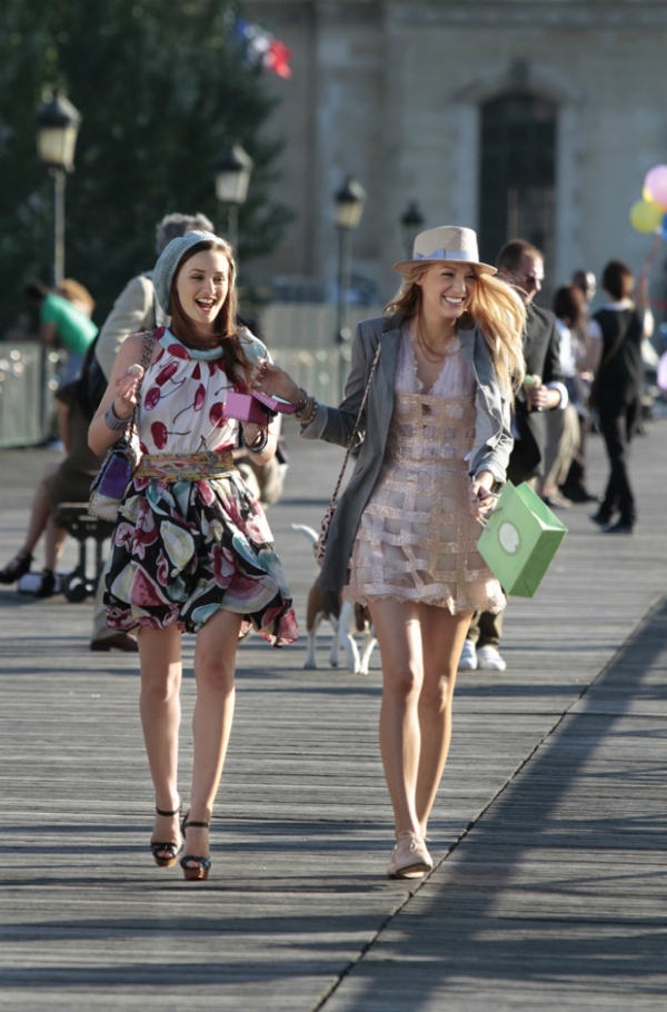 "slika 1 The Best Fashion Moments: ""Gossip Girl"" u gradu svetlosti"