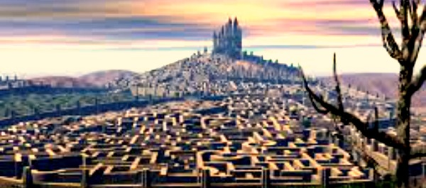 zamak i lavirint Striptiz za pismene: Pojam o životu