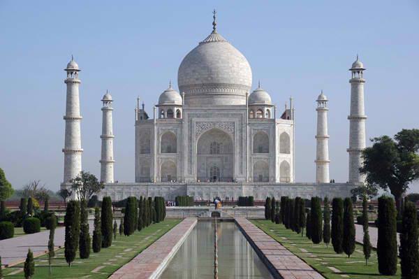 Таdž Mahal Drevna čuda Azije