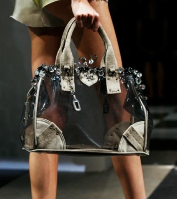 4Prozirna torba Moderne torbe za proleće