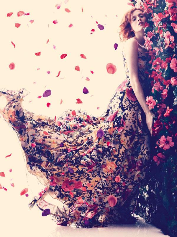 "72 ""Harper's Bazaar UK"": Romantika i proleće"