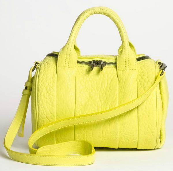 Alexander Wang Rockie Bag Prolećne žute torbe