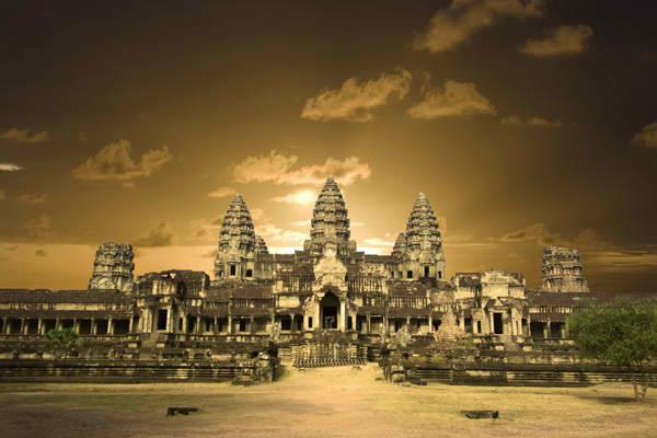 Angkor Vat Drevna čuda Azije