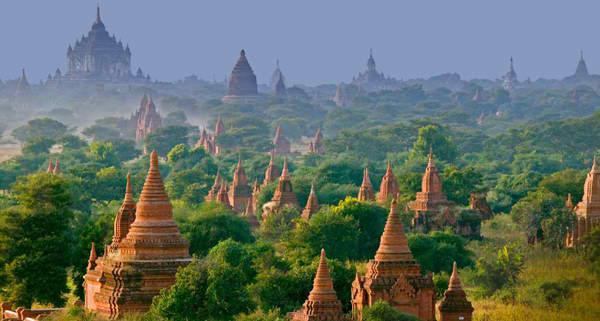 Bagan Drevna čuda Azije