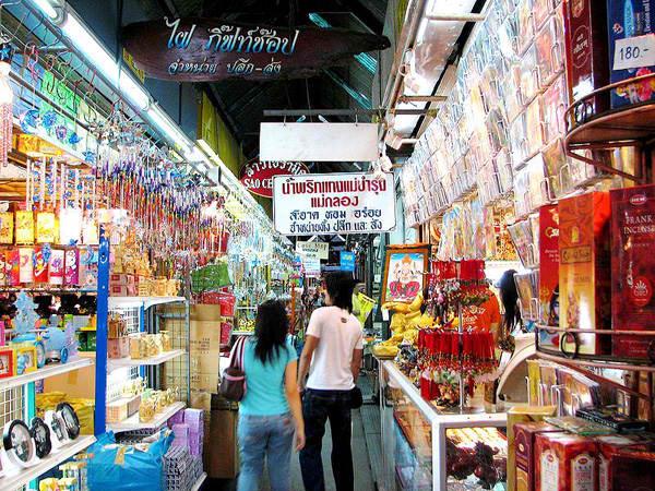 Bangkok Chatuchak Weekend market Ulične pijace u svetu