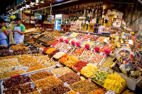 Barcelona La Boqueria market Ulične pijace u svetu