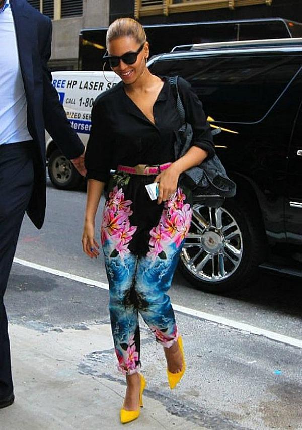 Beyonce 4 Top 10 Street Style: Beyoncé