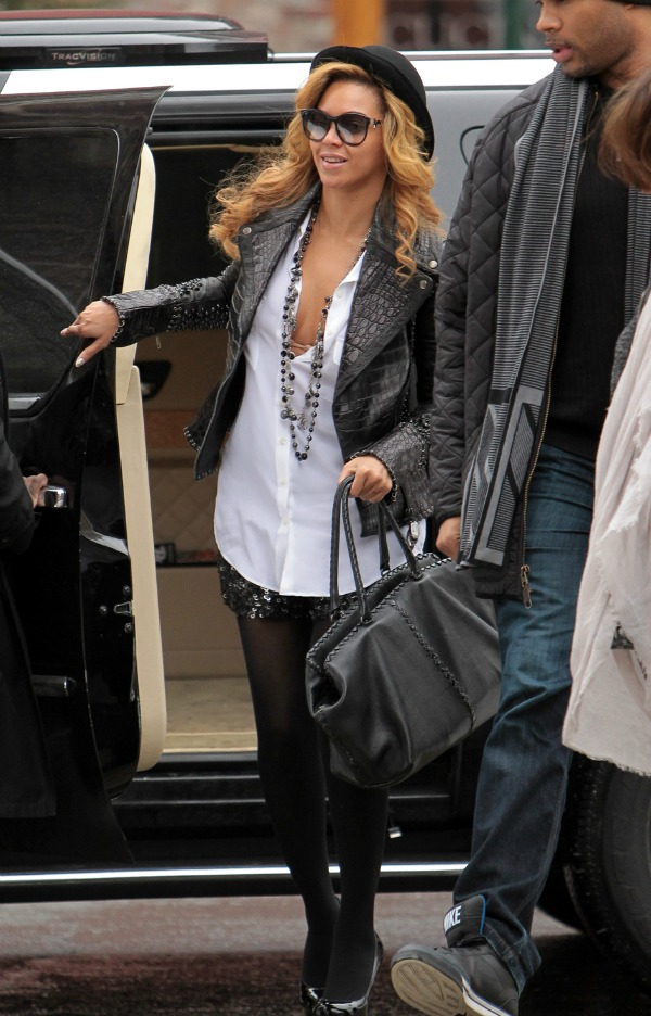 Beyonce 6 Top 10 Street Style: Beyoncé