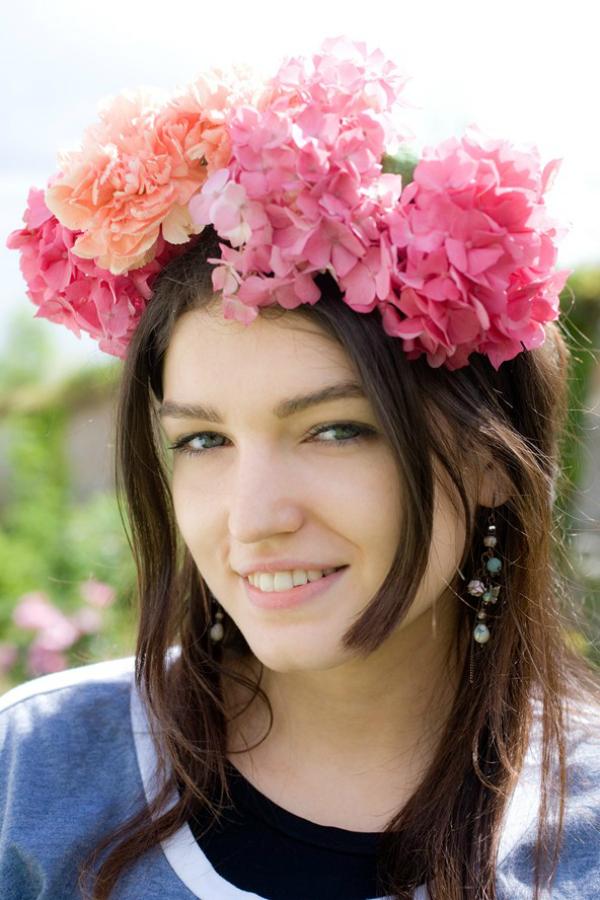 Cvijeće Moda na festivalima
