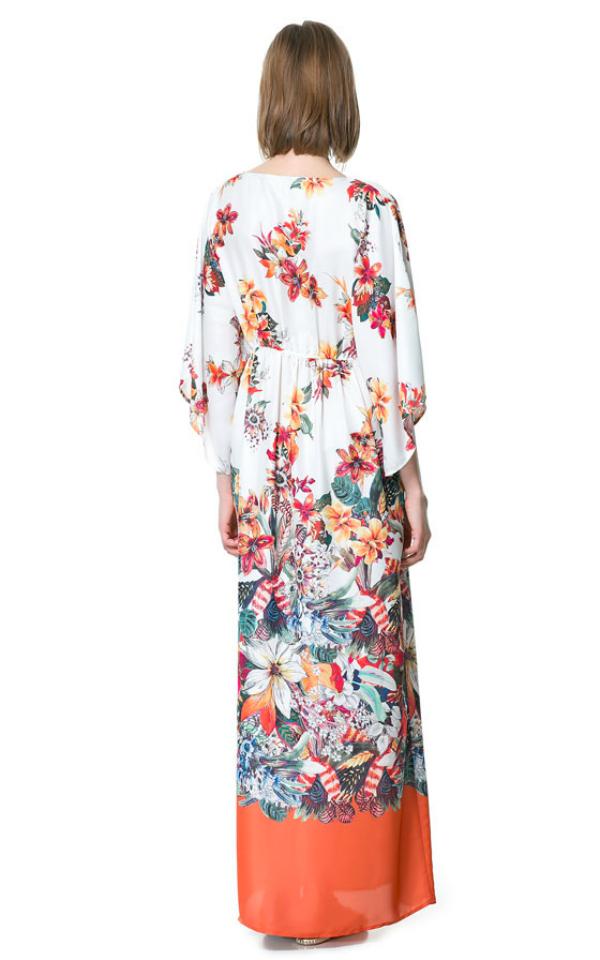 Cvjetni uzorak. Top 10 najlepših dugačkih haljina za tople mesece