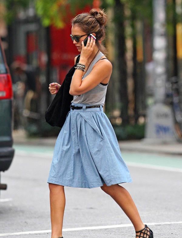Džesika Alba 12 Prelistavamo stil: Jessica Alba