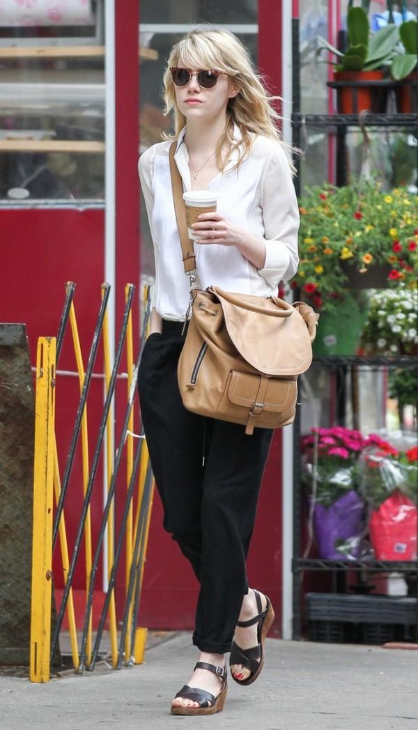 Emma Stone Celebrity stil dana: Emma Stone