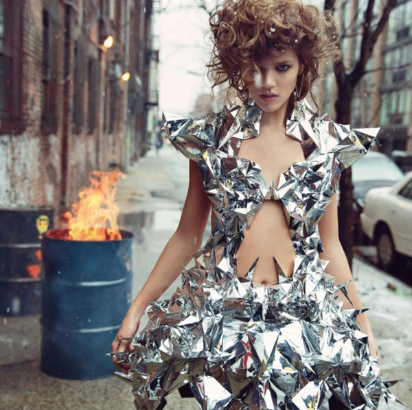 "FrejaBehaErichsenVogueParis1 May2013 ""Vogue Paris"": Sve čari visoke mode"