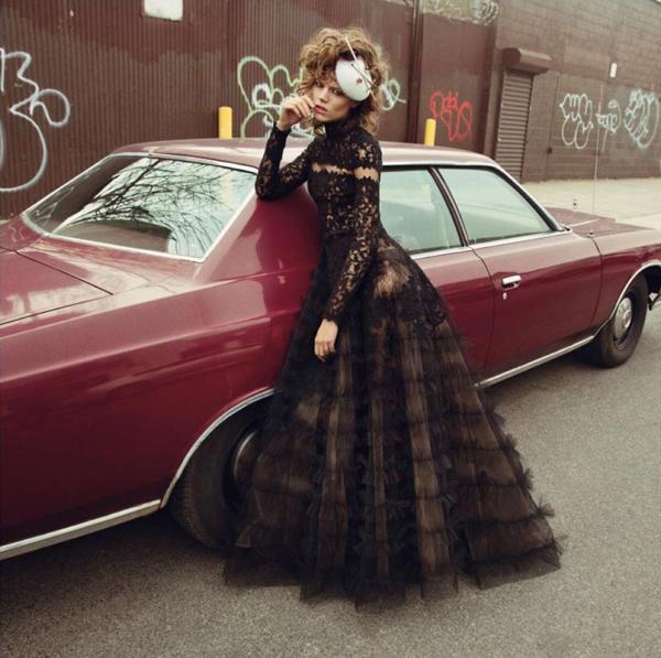 "FrejaBehaErichsenVogueParis7 May2013 ""Vogue Paris"": Sve čari visoke mode"