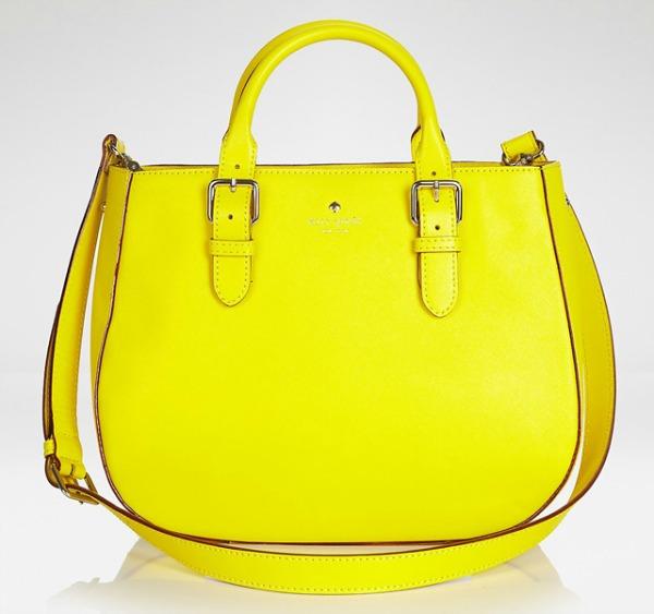 Kate Spade New York Charlotte Street Sylvie Tote Prolećne žute torbe