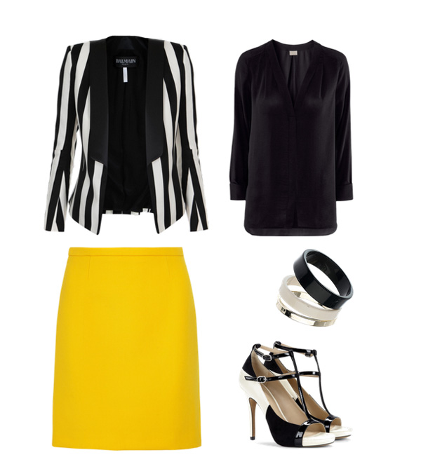 Look52 Look of the Day: Trendi pruge
