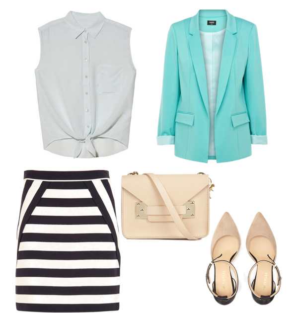 Look57 Look of the Day: Mint i pruge