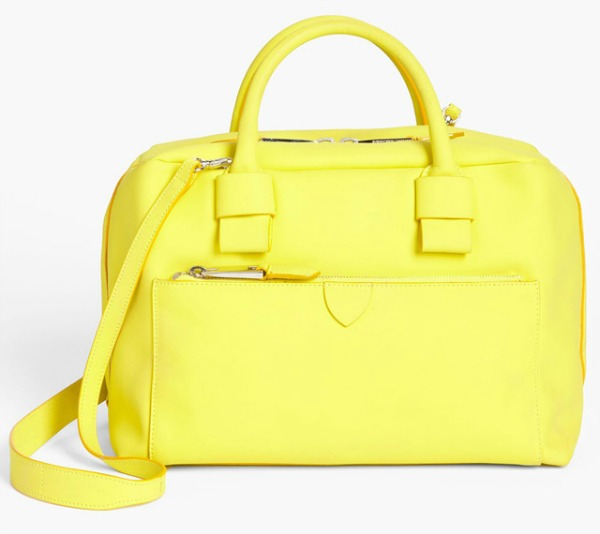 Marc Jacobs Antonia Satchel Prolećne žute torbe