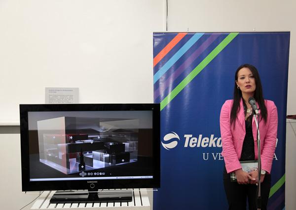 Marija Boskovic direktorka sektora za PR Telekoma Srbija Otvoren Virtuelni muzej Mihajla Pupina