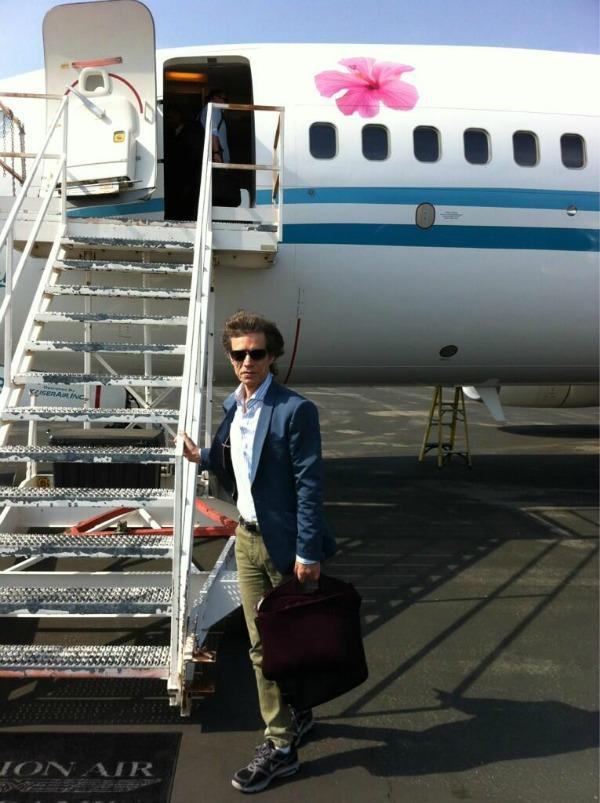 Mik Dzeger Twitter na crvenom tepihu: Kako da joj treniraš živce
