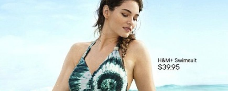 Modni zalogaj: Plus size manekenka u kampanji za H&M