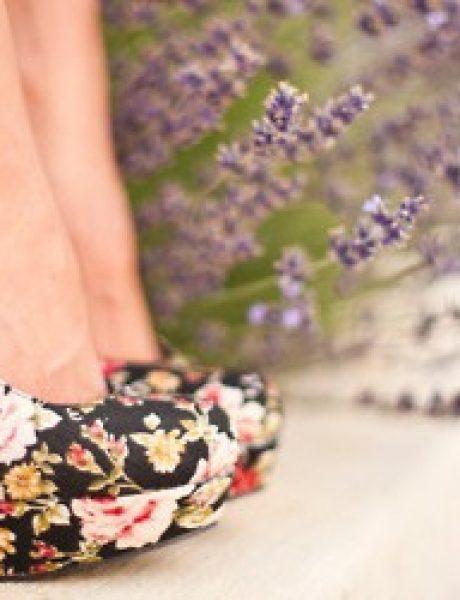 Neodoljive cvetne potpetice