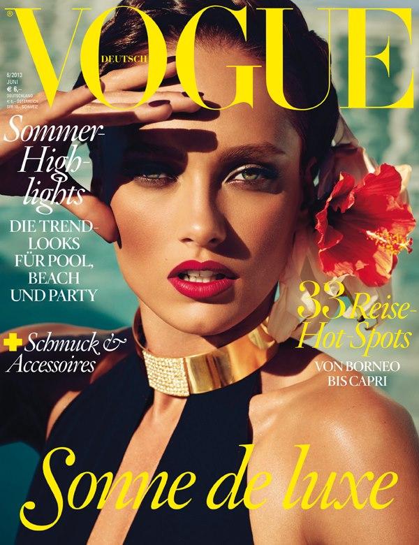 """Ovo je prva """"Vogue"""" naslovnica za Karmen Modni zalogaj: Zanosna Karmen Pedaru za """"Vogue Germany"""""""