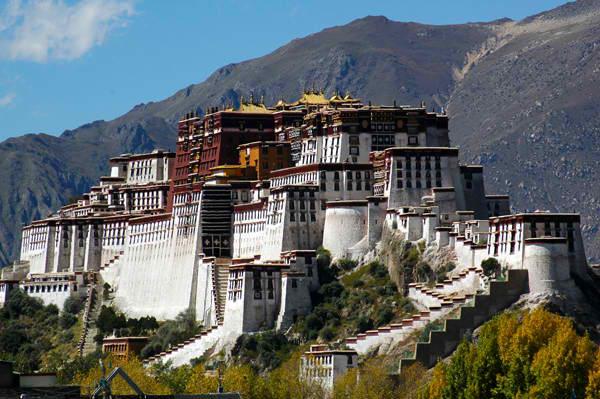 Palata Potala Drevna čuda Azije