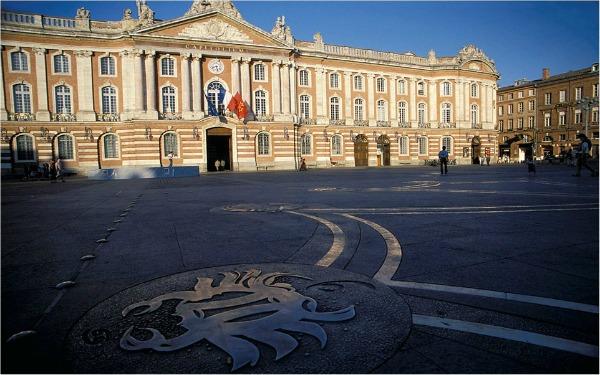 Place du Capitole Trk na trg: Place du Capitole, Francuska