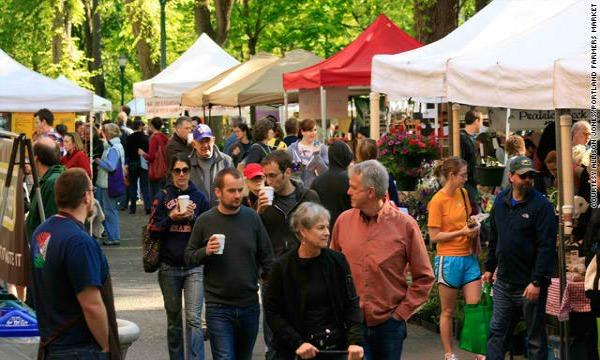 Portland Farmers market Ulične pijace u svetu