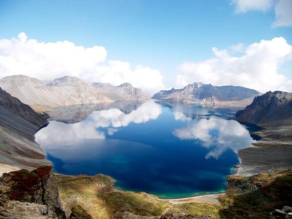 Rajsko jezero Fascinantna kraterska jezera