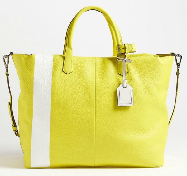 Reed Krakoff Gym Bag Prolećne žute torbe