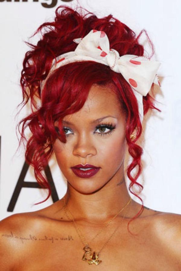 Rijana 7 Beauty Moments: Najlepše frizure, Rihanna