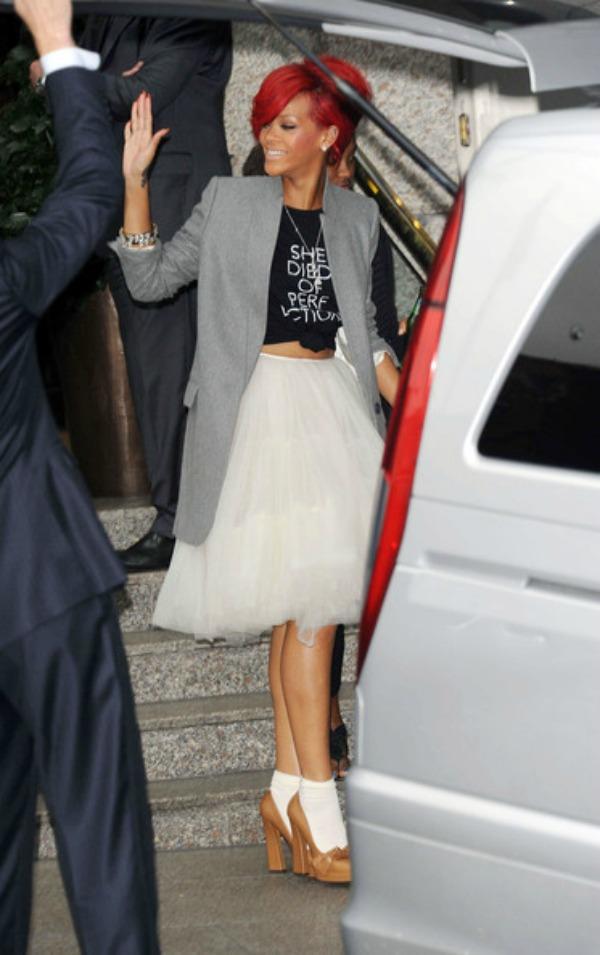 Riri maše 2 Street Style: Rihanna