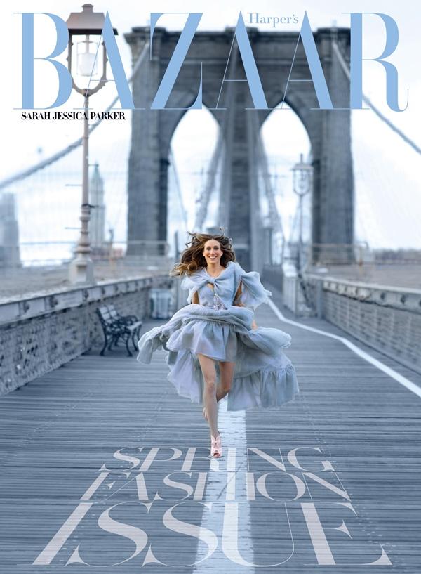"""Sarah Jessica Parker na """"Harper's Bazaar"""" naslovnici Moda na naslovnici: New York State of Mind, Sarah Jessica Parker"""
