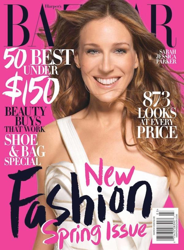 """Sarah Jessica Parker za """"Harper's Bazaar"""" Moda na naslovnici: New York State of Mind, Sarah Jessica Parker"""