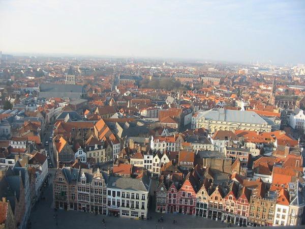 Slika 1. Trg na trg: Markt, Belgija