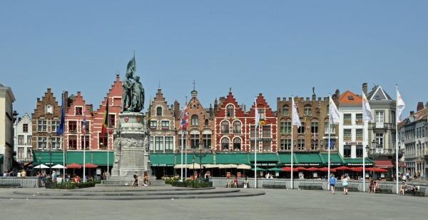 Slika 4. Trg na trg: Markt, Belgija