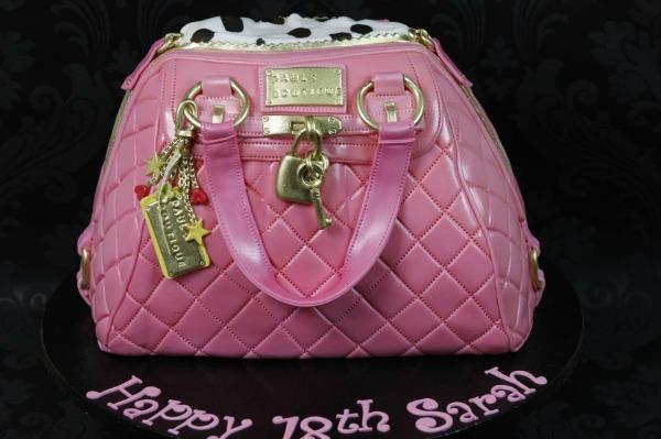 Svetlo roza torba Najbolje modne torte