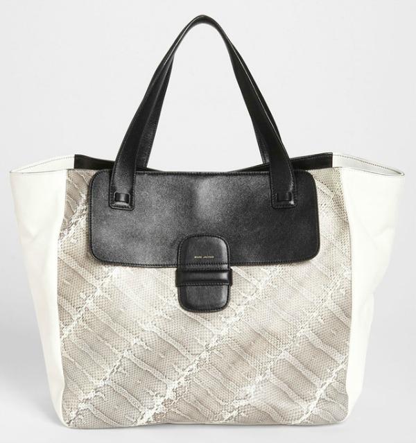 Torba Marc Jacobs1 Dvobojna klasika: Crno bele torbe