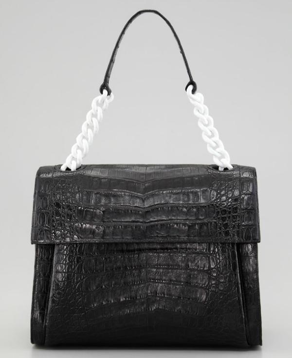 Torba Nancy Gonzalez Dvobojna klasika: Crno bele torbe