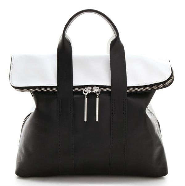 Torba Phillip Lim Dvobojna klasika: Crno bele torbe