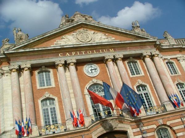 Toulouse capitole Trk na trg: Place du Capitole, Francuska
