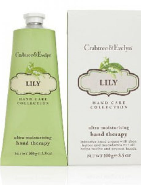 Wannabe shopping predlog: Crabtree & Evelyn Lily Hand Therapy
