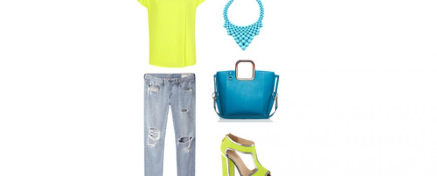 Look of the Day: Neon i teksas