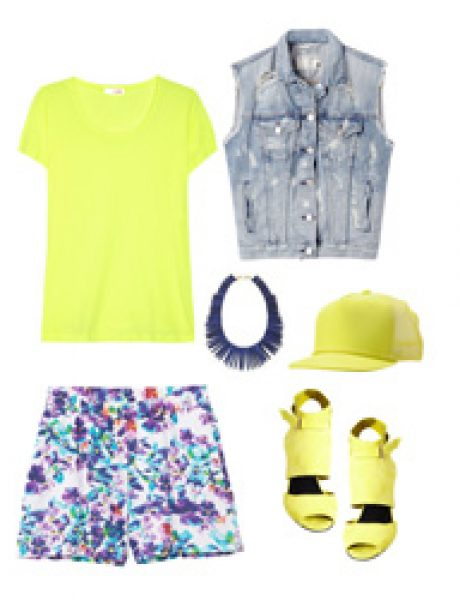 Look of the Day: Moderni neon