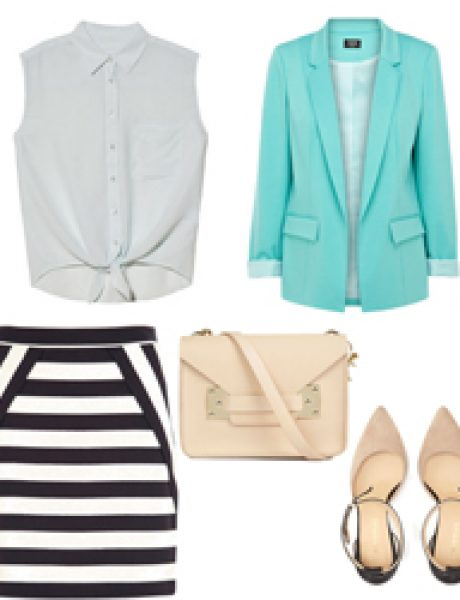 Look of the Day: Mint i pruge