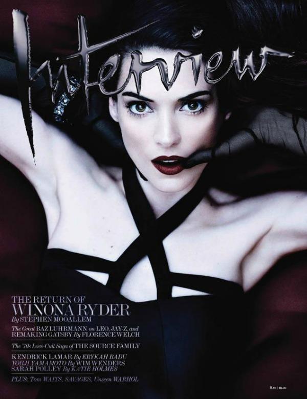 "Vinona Rajder kao zavodnica Modni zalogaj: Misteriozna Winona Ryder za ""Interview"""
